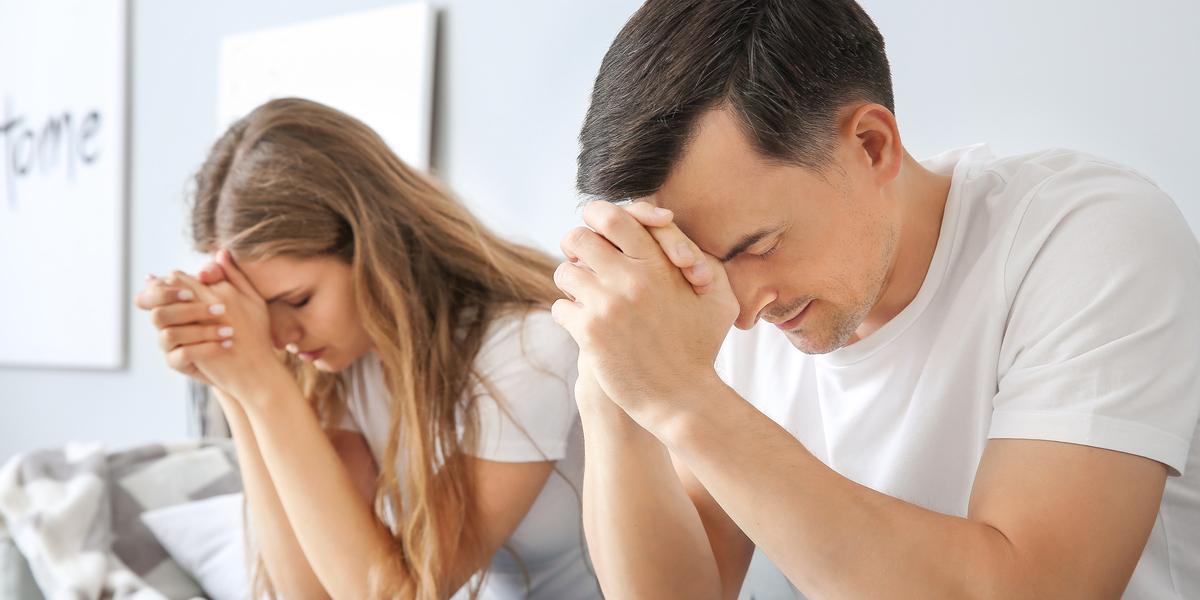 Couple - Praying - God - Parents