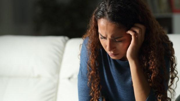 Sad - Woman - Complaining