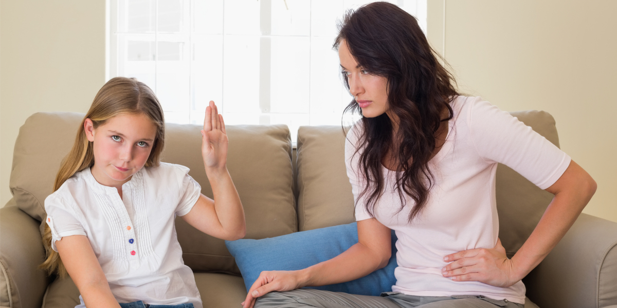 Stubborn - Girl - Stop - Mother
