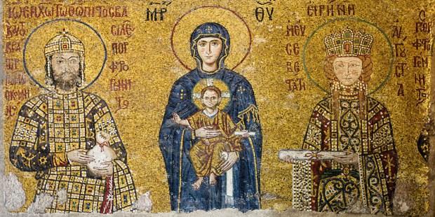 Comnenus mosaics Hagia Sophia