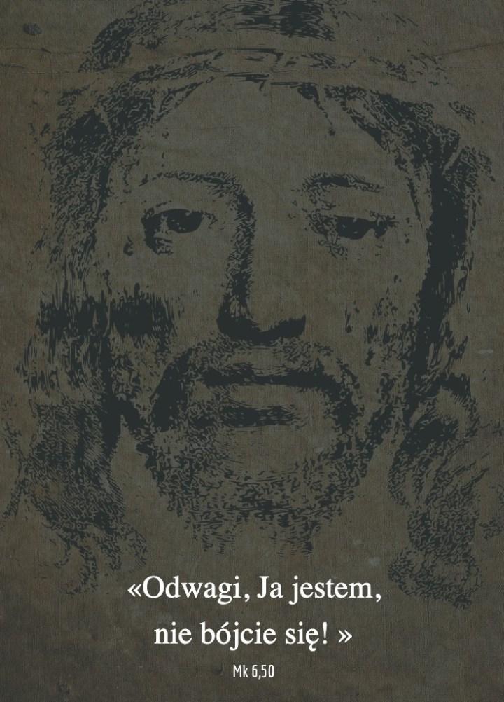 Cytat z Biblii [Mk 6,50]