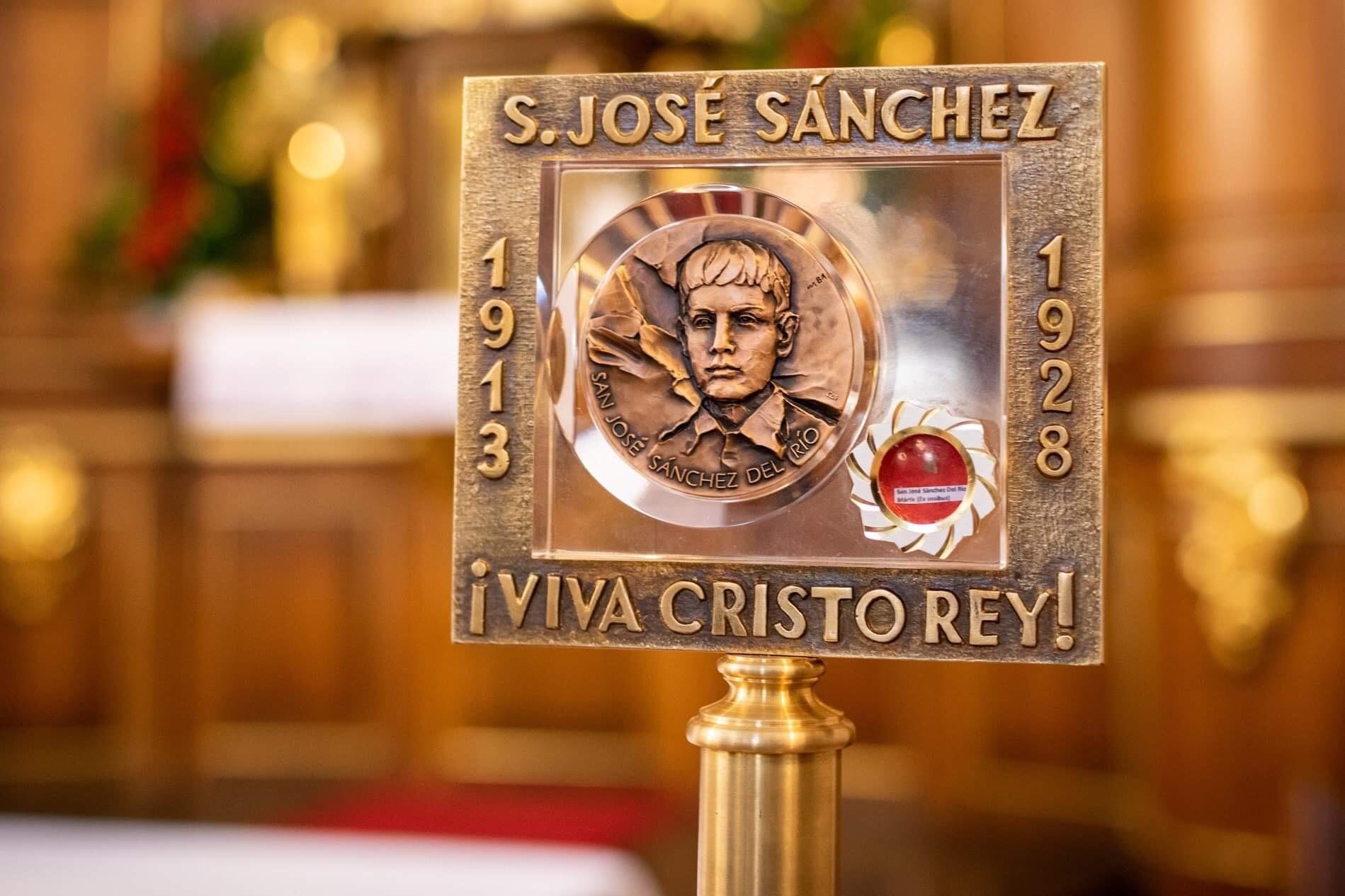 RELIKWIE ŚW. JOSE SANCHEZA DEL RIO