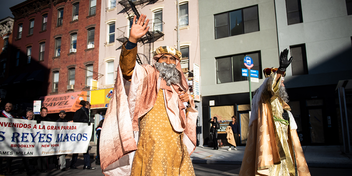 THREE KINGS DAY,EPIPHANY,NEW YORK,BROOKLYN