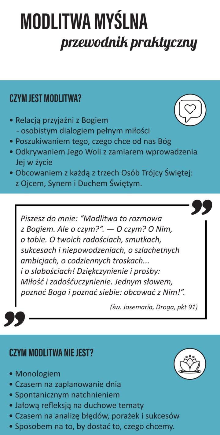 """ULOTKA """"JAK SIĘ MODLIĆ"""""""