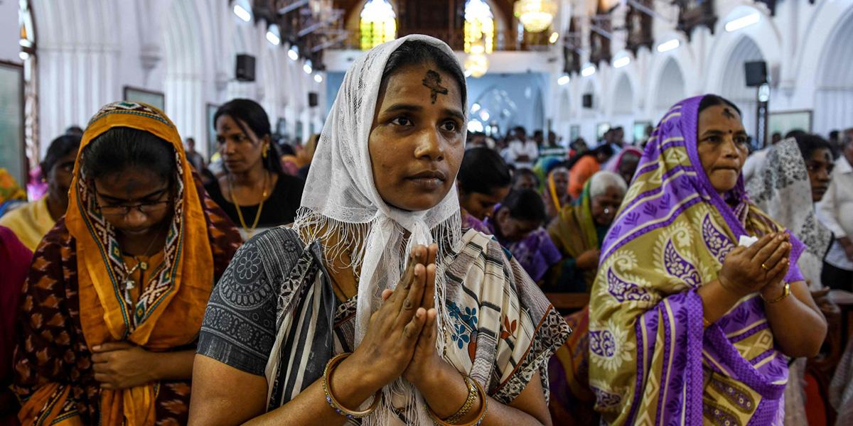 ŚRODA POPIELCOWA W INDIACH
