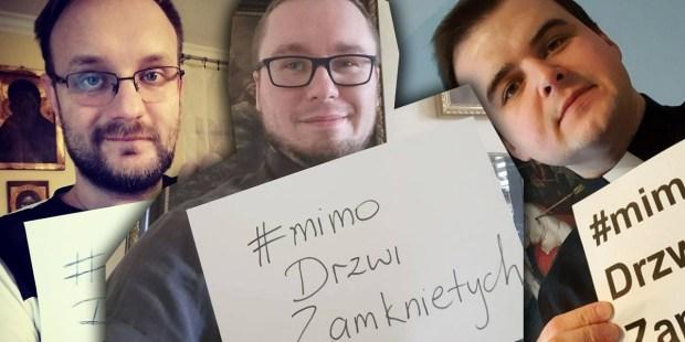 #MIMODRZWIZAMKNIETYCH