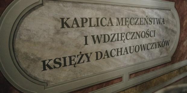 Kaplica pamięci i wdzięczności księży dachauowiczów w Kaliszu [GALERIA]