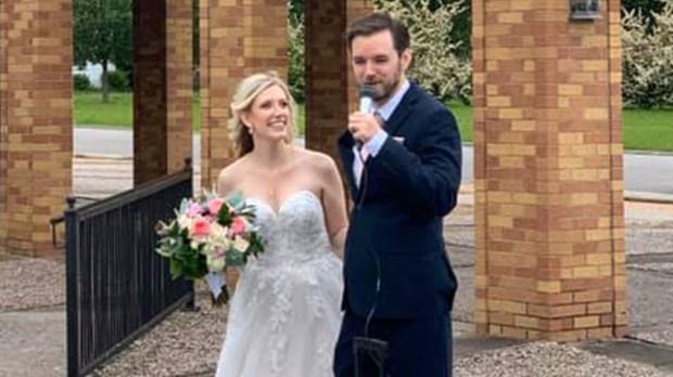 DAVID CASPER AND MALLORY ZEE WEDDING