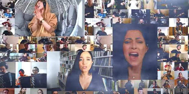 """Orkiestra online #wdomuzagrane - """"Co mi Panie dasz"""" (ar. Adam Sztaba)"""