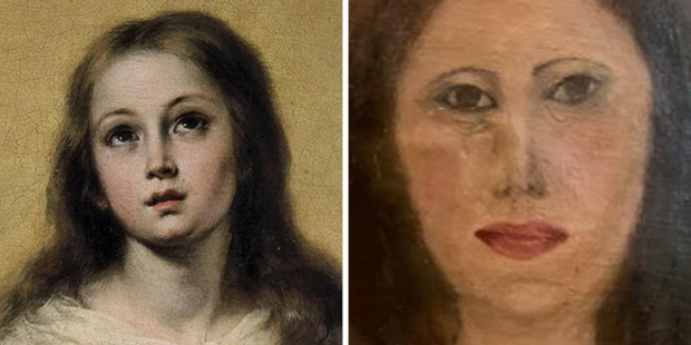 IMMACULATE CONCEPTION BOTCHED RESTORATION