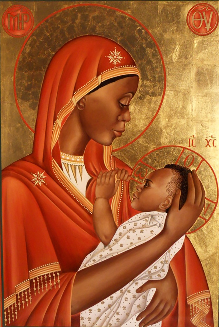 Icon of Our Lady of Mercy