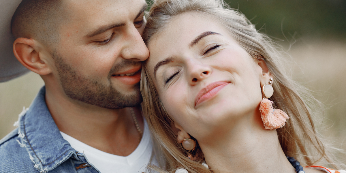 COUPLE, LOVE. SMILE
