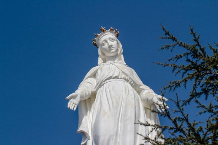 [GALERIA] Liban: Matka Boża Oczekująca. Zobacz to niezwykłe miejsce!