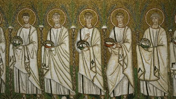 cortège de saints