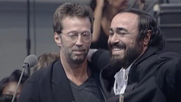 Eric Clapton, Luciano Pavarotti, East London Gospel Choir