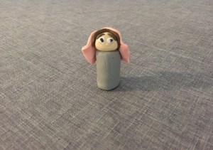 plasticine, Virgin Mary, DIY