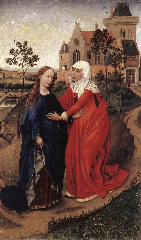 MARYJA W CIĄŻY NA OBRAZACH