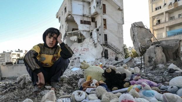 CHŁOPIEC Z SYRII
