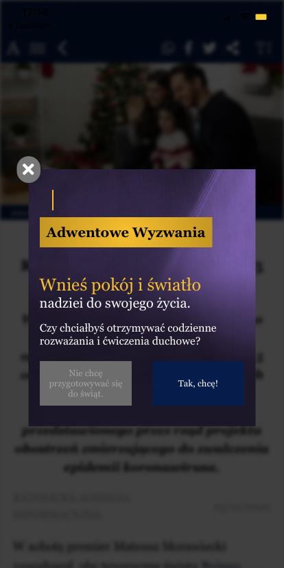 Wyzwania adwentowe w aplikacji