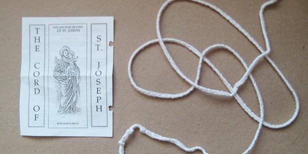 cord of saint Joseph