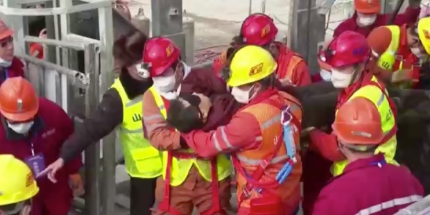 MINERS, CHINA, RESCUE