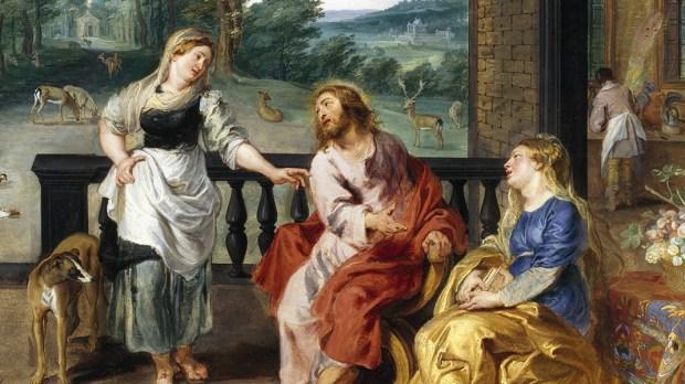 JEZUS W DOMU MARTY I MARII