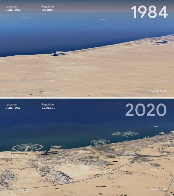 [GALERIA] Zobacz niesamowite zdjęcia satelitarne sprzed 37 lat!