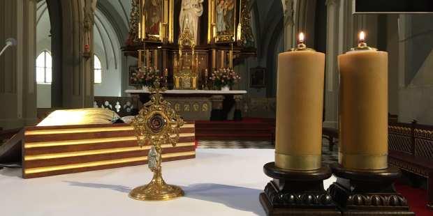 Relikwie św. Brata Alberta w Parafii i Sanktuarium św. Józefa w Krakowie