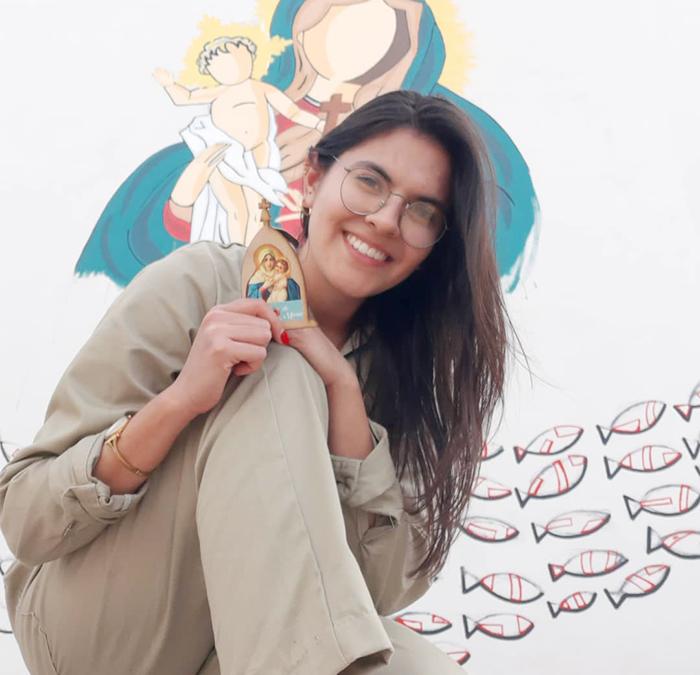 [GALERIA] Chce malować ulice i zdewastowane miejsca dla Jezusa. Żeby inni sobie o Nim przypomnieli