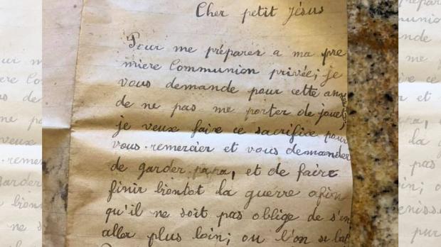 Carta de menino para Jesus