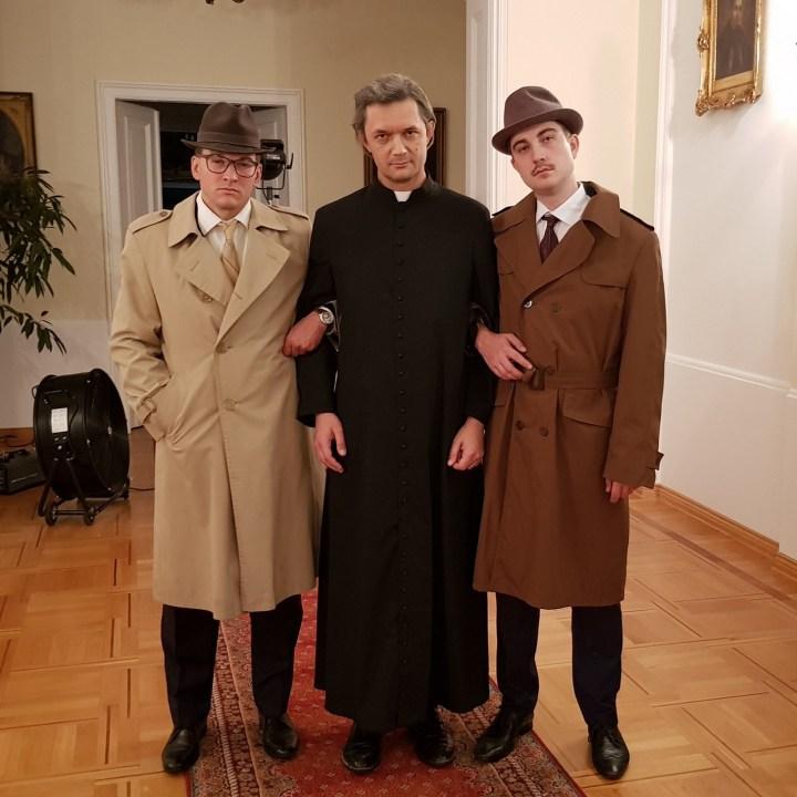 [GALERIA] Youtuber, który zagrał ks. Wyszyńskiego: to była niesamowita przygoda – także duchowa