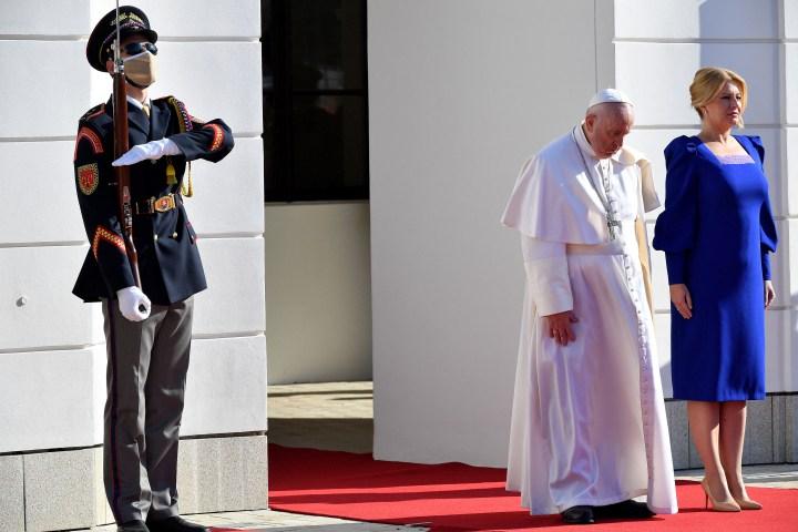 [GALERIA] Papież Franciszek na Słowacji
