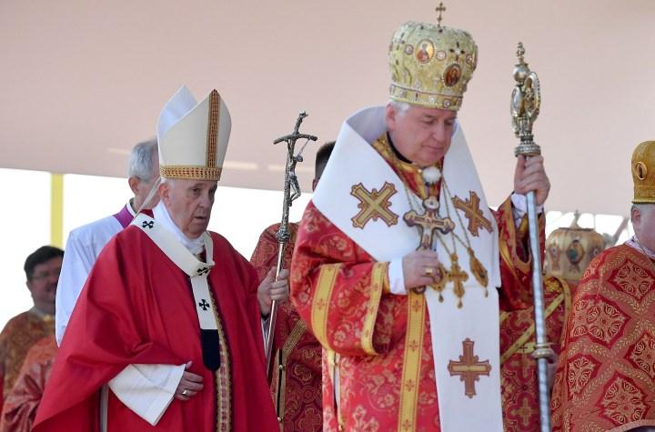 [GALERIA] Papież Franciszek na Słowacji, cz. 2