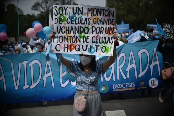 [GALERIA] Milion osób na marszach życia w Meksyku