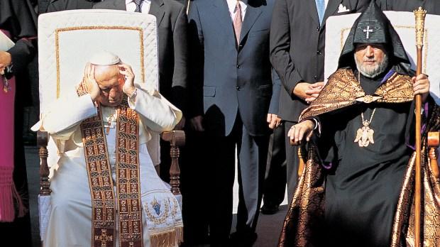 JAN PAWEŁ II W ARMENII
